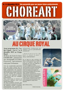 Annonce Cirque Royal 2013